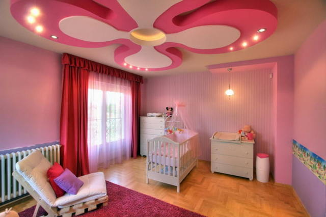 7 материалов для отделки потолка в детской