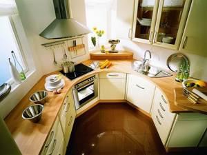 Этапы ремонта кухни