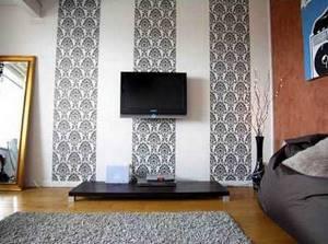 Черные обои на стену в интерьере: 6 советов по дизайну