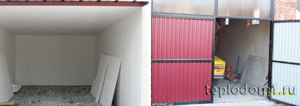 5 вариантов утепления гаража снаружи