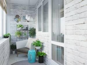 8 вариантов декоративной отделки балкона с фото