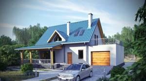 ТОП 6 лучших проектов гаражей с террасой