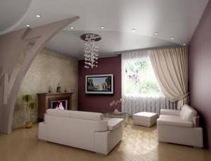 13 материалов для отделки потолка гостиной