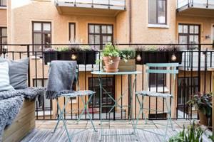 9 интересных идей отделки балкона (с фото)